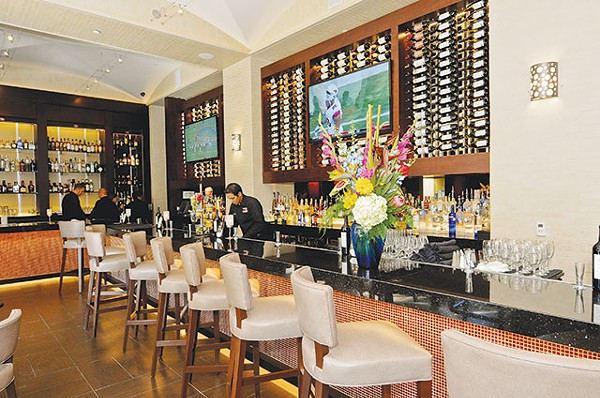 The new bar at Ruth's Chris is ginormous - COURTESY PHOTO