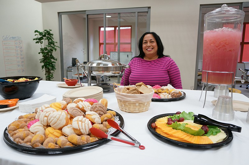 The new BFL program may have helped Silvia Alcaraz in keeping her restaurant open. - PETER FRENCH