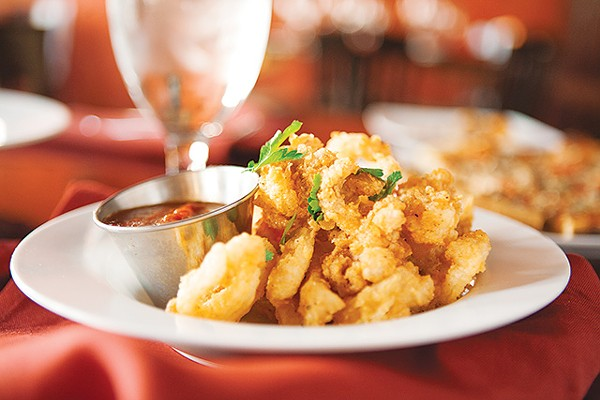 The popular crispy lemon butter calamari - ANA AGUIRRE