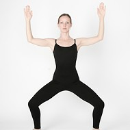 The Pose of the Goddess: Deviasana