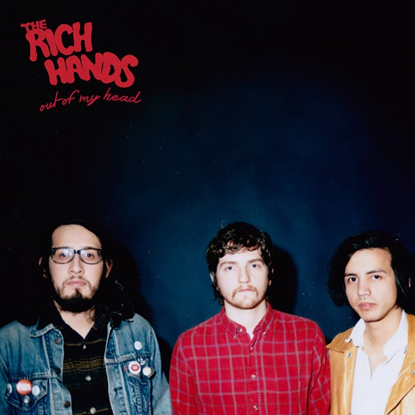 The Rich Hands play twice on Thursday - COURTESY