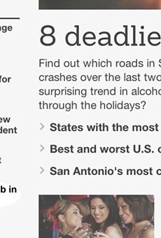 The 'San Antonio Express-News' published an unfortunate headline Monday morning.