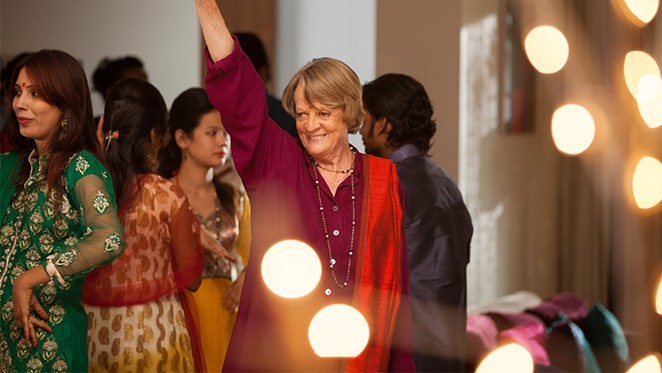 The always fabulous Maggie Smith in The Second Best Exotic Marigold Hotel - COURTESY