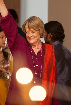 The always fabulous Maggie Smith in The Second Best Exotic Marigold Hotel