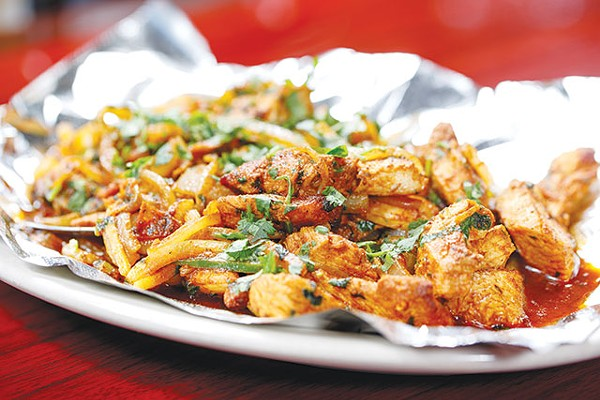 The spicy chicken tawa is a must-have - CASEY HOWELL