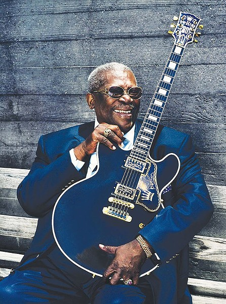 Blues legend B.B. King passed away yesterday at the age of 89. - COURTESY