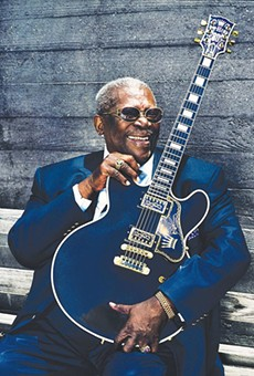 Blues legend B.B. King passed away yesterday at the age of 89.