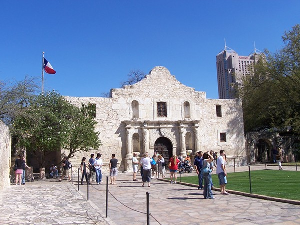 The world-famous Alamo. - WIKI COMMONS