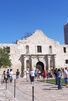 The world-famous Alamo.
