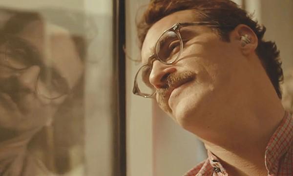 Theodore (Joaquin Phoenix), pining for his phone - COURTESY PHOTO