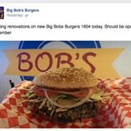 Third Big Bob's Burger Location on the Way