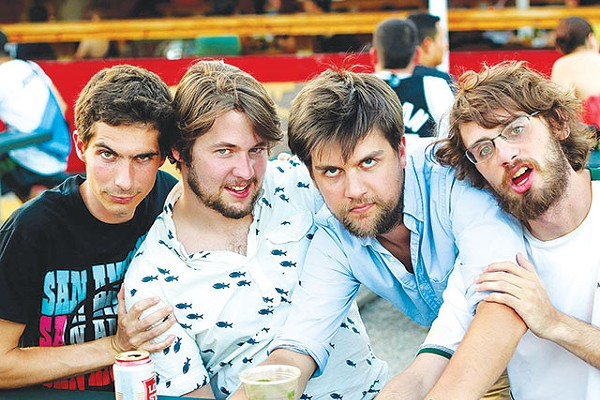 This is absolutely the silliest band photo of 2013 - COURTESY PHOTO