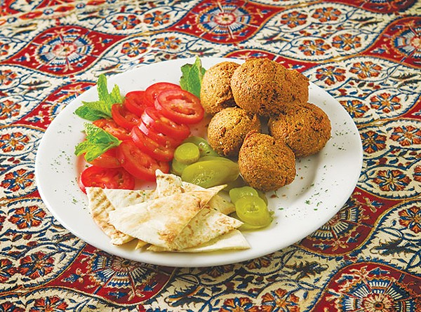 This just might be the best falafel in town - DAN PAYTON