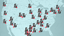 This Map Plots Out (Almost) Every Place Willie Nelson Namechecks In Song