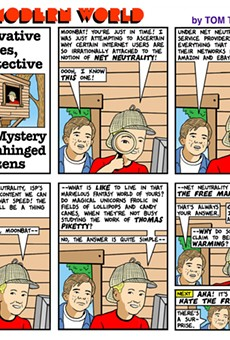 This Modern World: Conservative Jones, Boy Detective and the Mystery of the Unhinged Netizens