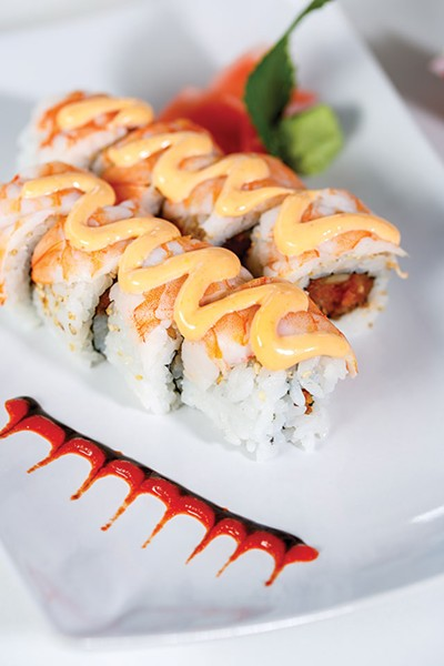 This tiger roll has some bite - CASEY HOWELL