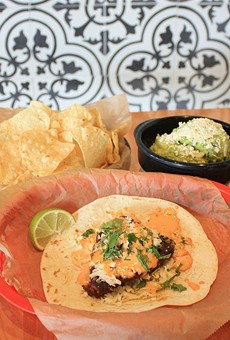 Though not always the most visually appealing, tacos at Torchy's tend to hit the spot.