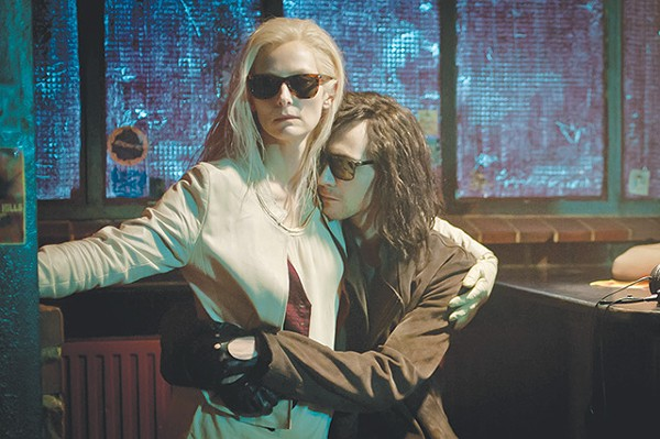 Tilda Swinton and Tom Hiddleston are two vampires who are tired of being tired in 'Only Lovers Left Alive' - COURTESY PHOTOS
