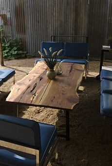 Tons of choices for SA summer lounging, such as this cozy spot at Alchemy Kombucha & Culture.