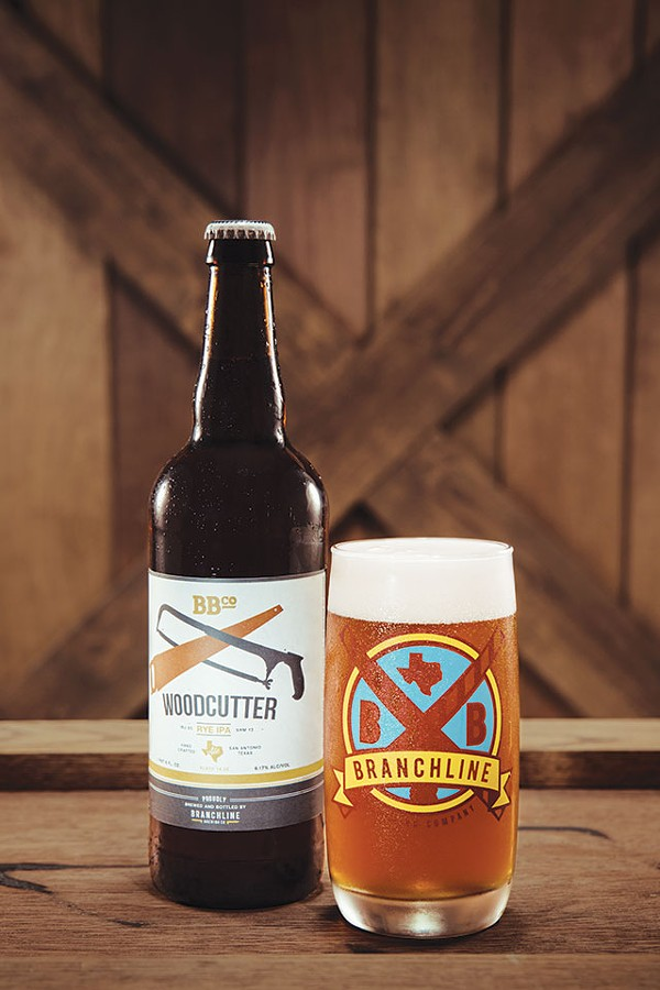 Try Branchline's Woodcutter Rye IPA with hot wings to balance the spice - COURTESY PHOTO