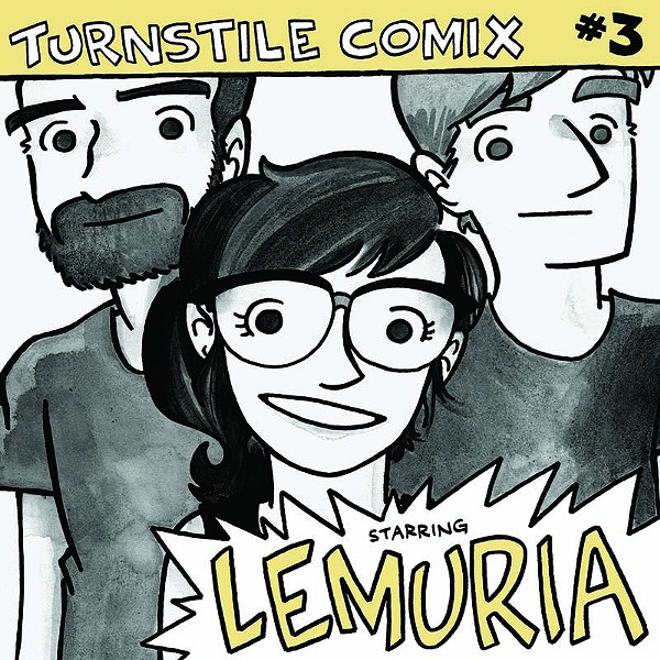 Turnstile Comix #3 - COURTESY