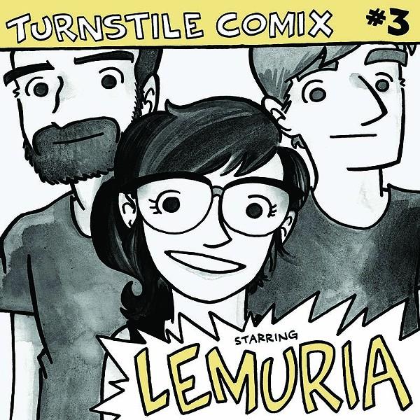 Turnstile Comix #3 - COURTESY