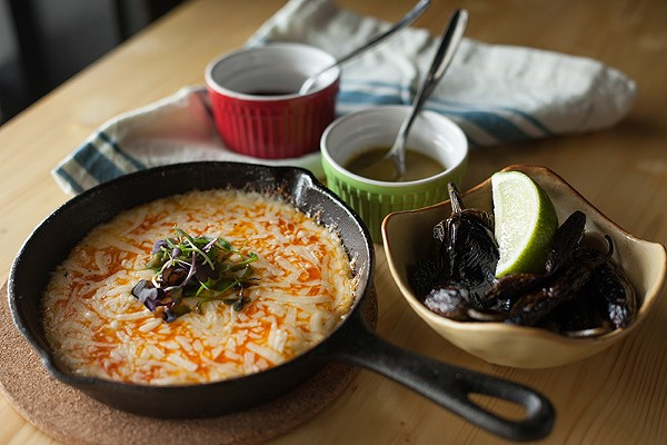 The limited curated menu packs in Mexican classics. - LIZZIE FLOWERS