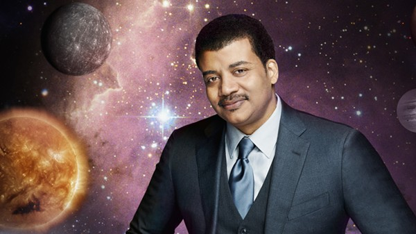 Famed astrophysicist Neil deGrasse Tyson will speak at a sold-out show at the Tobin Center For The Performing Arts On Tuesday, June 16. - COURTESY