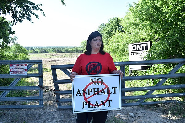 Jennifer McGovern says neighbors had no warning a new industrial plant is coming in. - CRYSTAL POENISCH
