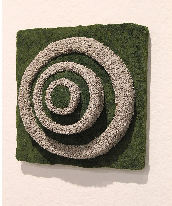 """Emily Fleisher's assemblage """"Terraced"""" - COURTESY"""