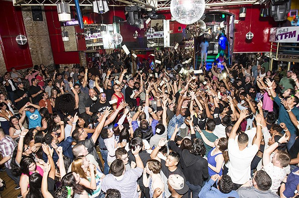 Still going, but has its clientele shifted significantly over the years? The venerable Bonham Exchange faces criticism of no longer being a bona fide gay club. - MATT KELLEY