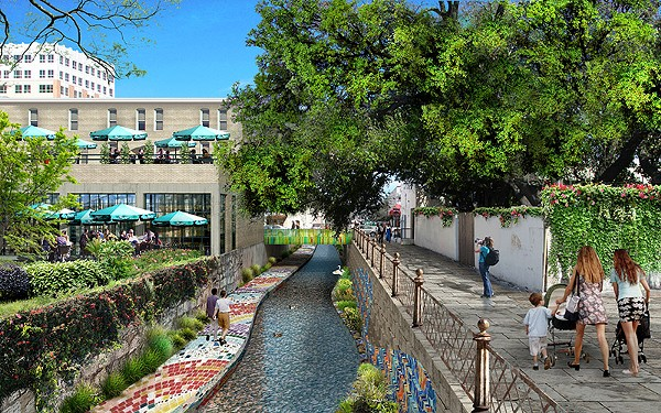 From playscapes to iconic pavillions, the San Pedro Creek revival will provide a unique opportunity to showcase new public art displays. - COURTESY