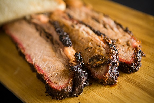 Thick, lean or fatty, this brisket is worth the drive out to Loopland for urban dwellers. - DAN PAYTON