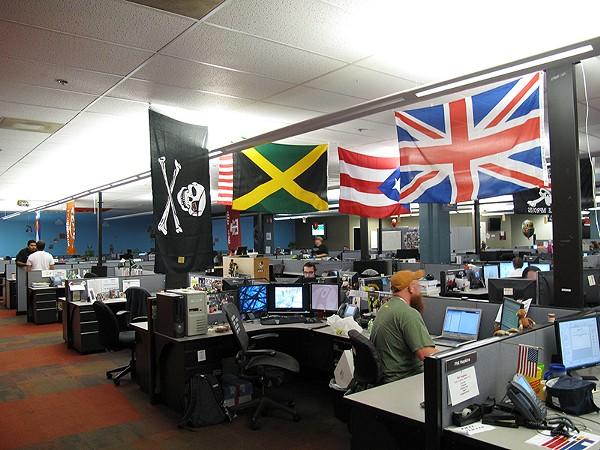 Rackspace brought San Antonio digital credibility. - SCOTT BEALE
