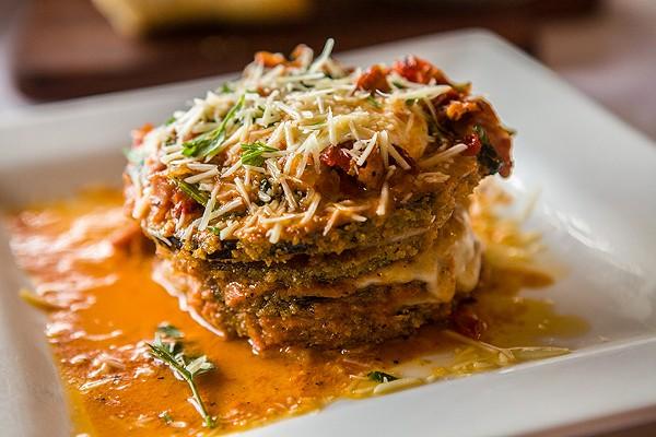 Melanzane Ana Maria – a must-order dish at Gennaro's Trattoria. - DAN PAYTON