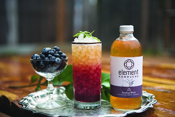 Kombucha and veg-friendly dishes are a must. - COURTESY