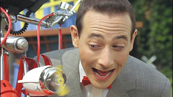 Pee-wee and his beloved bike. - COURTESY