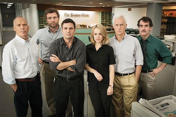 Spotlight takes a spot in the pantheon of journalism flicks. - COURTESY