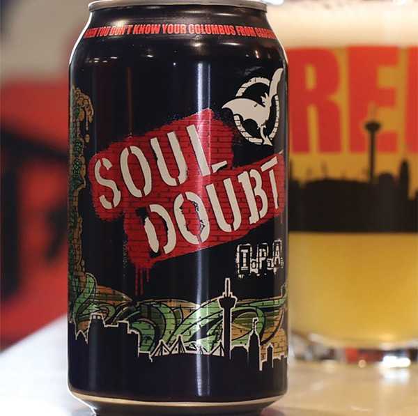 Hoppy and drinkable, Soul Doubt IPA from Freetail Brewing is one of our favorite beers of the year. - COURTESY