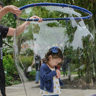 Family-Friendly Bubble Fest Returns to Chris Park