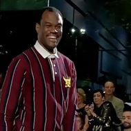 Spurs Legend David Robinson Struts Down Runway at New York Fashion Week