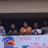 UTSA President Apologizes to Texas State for Banners Perpetuating Rape Culture