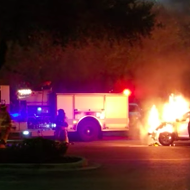 USPS Truck Driver Loses Control of Vehicle, Dies in Fiery