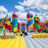 The World's Biggest Bounce House Returning to San Antonio This Month