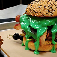 San Antonio Burger Shop Adds Halloween Specials Complete with Radioactive Queso