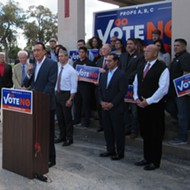 Five San Antonio Mayors Line Up to Blow Holes in the Fire Union's Charter Amendments