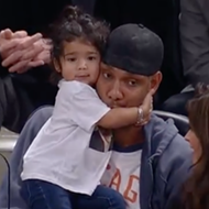 ICYMI, Here's Tim Duncan and His Adorable Daughter, Quill, at the Spurs Game