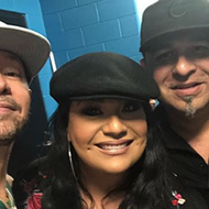 "New Kids on the Block Dances Along to Selena's ""Bidi Bidi Bom Bom"" During Corpus Christi Concert"