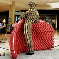 'Canstruction' Art Event Taking Over North Star Mall, Will Benefit San Antonio Food Bank