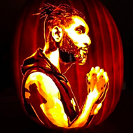San Antonio Artist Creates Jack-O-Lanterns of Tim Duncan, Selena
